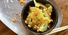 Fig Leaf Tea - Garden Variety Life Cucumber Recipes, Cucumber Salad, Armenian Cucumber Recipe, Fig Leaf Tea, Fig Leaves, Guacamole, Spicy, Asian, Health