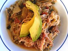 Paleo Crockpot Pork Green Chile