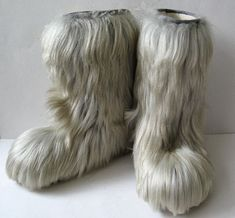 Trying to dry your yeti boots after getting them wet outside....