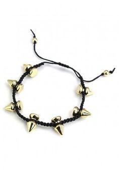 #Chicwish  Spike Knit Bracelet