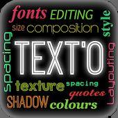 TextO - Escrever na foto