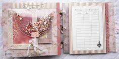 Handmade by Yulianna: Альбом для Алисы. Mixed Media