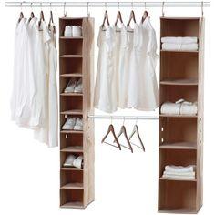 Neatfreak Closet Organization System, 3 Piece ClosetMAX (€75) ❤ liked on Polyvore featuring furniture