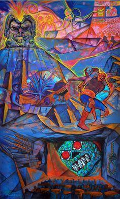 Mural, Estruendo Cinematográfico 2011. by Miguel Valverde
