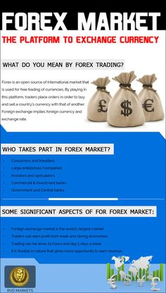 #Forex Market: The Platform to Exchange Currency