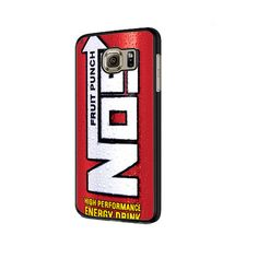 Funny NOS Energy Drink Samsung Galaxy S6 | S6 Edge Cover Case