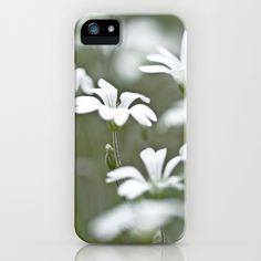 Stitchwort. iPhone Case by David P Hunter - $35.00