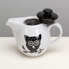 Omniware Night Owl Teapot with Infuser