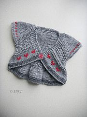 """Please Note: this pattern was also published in """"One Skein Wonders for Babies.""""In the book version, the sizing only goes to 18months in the book (i.e. only the baby sizes), so if you need larger sizes you will need to purchase the individual pattern."""