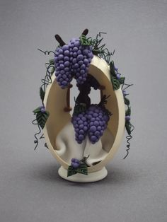 The Winery Egg...(Goose egg design) by Laura J Schiller
