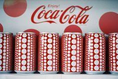 Coca Cola Can Designed By Yayoi Kusama