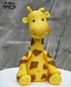 Biscuit Passo a Passo: Girafa em biscuit                                                                                                                                                                                 Mais