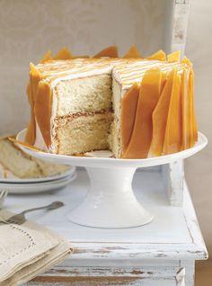 Wow! Triple Caramel Cake Recipes   Ricardo