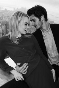 Andrew Garfield & Emma Stone! So presh!