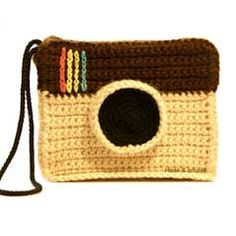 Instagram amigurumi crochet pattern.  I'm addicted to IG. Love looking at all the interesting photos there.