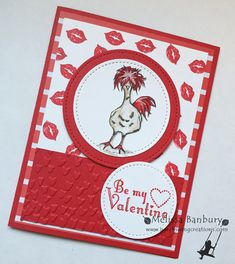 Hey, Chick Valentine by melissabanbury - Cards and Paper Crafts at Splitcoaststampers