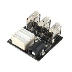 Купить товарГорячая USB Power Bank повышающий Повышающий Модуль 3 USB мини Зарядки Модуль 9 В/12 В к 5V8A в категории Модулина AliExpress. Горячая USB Power Bank повышающий Повышающий Модуль 3 USB мини Зарядки Модуль 9 В/12 В к 5V8A