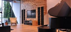 This unique Model LS stereo system is installed in a stunning living room which overlooks a beautiful lake and golf course in the elite Sentosa Cove area of Singapore. Read more at: http://steinwaylyngdorf.com/showcases/stereo/unique-model-ls-system-near-sentosa-cove