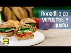 Bocadillo De Verduras Y Queso - Recetas De Picnic - YouTube