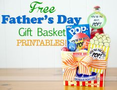 Free Father's Day Printable when you register for newsletter.