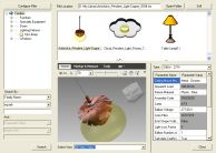 Free Family Browser with parameter search, thumbnail and DWF creation