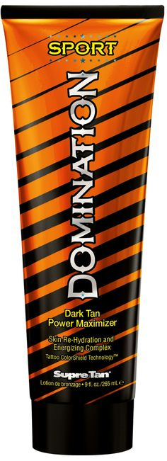 Supre Tan Domination™ Sport Dark Tan Power Maximizer