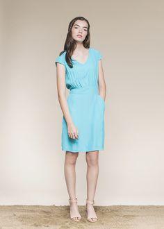 Kojin Dress by Jennifer Glasgow -Velouria