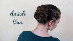 Swartzentruber Amish lady putting up her hair. Long Silver Hair, Viking Braids, Amish, Hair Dos, Braided Hairstyles, Hair Beauty, Dreadlocks, Long Hair Styles, Pretty