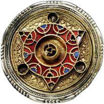 Anglo-Saxon brooch #mandala