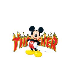 Mickey Mouse X Thrasher Parodie-T-Shirt - Disney Liebe Dope Wallpaper Iphone, Hype Wallpaper, Iphone Wallpaper Tumblr Aesthetic, Trippy Wallpaper, Emoji Wallpaper, Cute Wallpaper Backgrounds, Disney Wallpaper, Funny Wallpapers, Retro Wallpaper