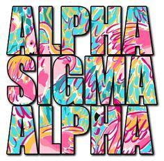 @Alpha Sigma Alpha