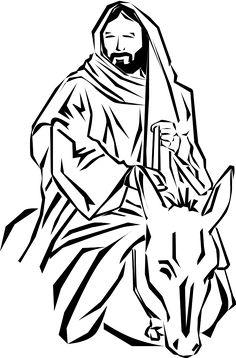 resultado de imagen para perfil virgen maria silueta dise o rh pinterest com palm sunday black and white clipart Palm Sunday Religious Clip Art