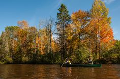 By Alex Frost Just because summer is over, doesn't mean paddling season is. Autumn is a perfect time to get out onto flat water and tour. Getting out and s