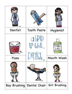 Preschool Printables: Dentist