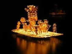 The Offering Boat Room, Museo del Oro / Museum of Gold