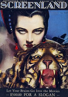 Screenland (September 1924) by Rolf Armstrong