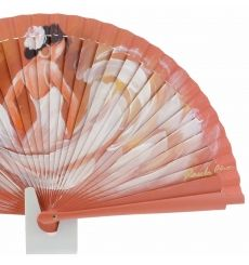 Tienda online abanicos de diseño - Paula Alonso - Tienda online Painted Fan, Hand Painted, Hand Held Fan, Hand Fans, Chinese Fans, Paper Fans, Fabric Dolls, Diy Crafts, Cool Stuff