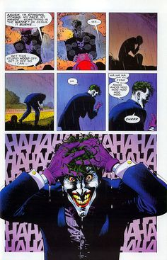 super-nerd:  the Joker — Brian Bolland