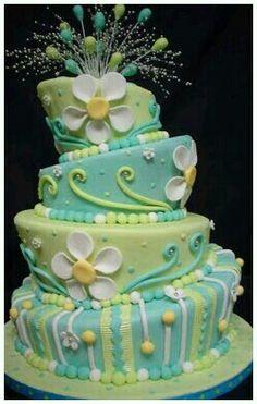 Birthday cake design!