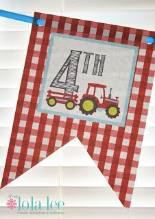 If Only: Tractor Party {Birthday}