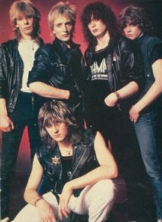 Def Leppard early 80s