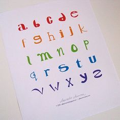 #Freebies   ABC poster