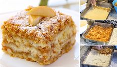Gestreuter Tassenkuchen mit Äpfeln Sure you know the delicious apple pie with pudding. This is a recipe for a simple but delicious apple pie. Slovak Recipes, Czech Recipes, Cookie Recipes, Dessert Recipes, Pudding Desserts, Cupcake Recipes, Kolaci I Torte, Something Sweet, Food Cakes