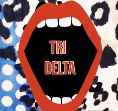 Tri Delta Graphic #tridelta #sorority - jc