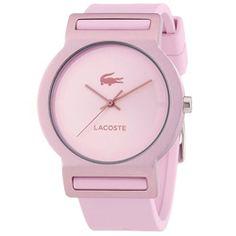 937a08cdd54 Relógio Lacoste silicone rosa Feminino - 2020076