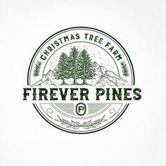 "Firever Pines - ""Firever Pines"" Christmas tree farm needs a simple but stylish logo Christmas tree farm. Whiskey Logo, Vintage Logo Design, Logo Vintage, Agriculture Logo, Farm Logo, Hipster Logo, Tree Logos, Logo Design Inspiration, Design Ideas"