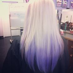 Lavender ombre  Ion color :) Freaking love it!  Hair <3