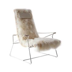 Fur Chair by Antonio Citterio the J.J armchair featuring polyvore, chairs, furniture and furniture - chairs