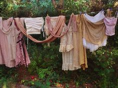 someday...i will hang my laundry to dry in the summer sun.