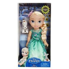 Disney's Frozen Fever Toddler Elsa Doll - 13 Inches - New in Box in Toys & Hobbies,TV, Movie & Character Toys,Disney | eBay
